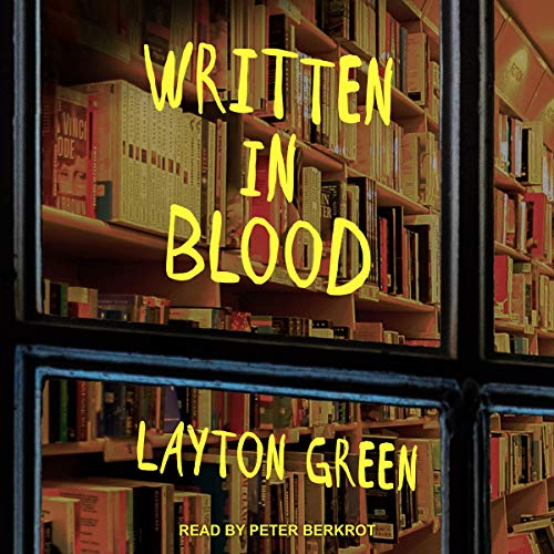 Written in Blood audiobook cover art