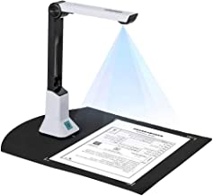 $78 » Portable Document Scanner 8 MP HD Smart Document Camera Max A4 Size with Real-Time Projection Video Recording Function for...