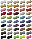 DIE NÄHZWERGE Qualitäts-Nähgarn Stärke: 120, je 1.000 Meter Rolle, 45 Farben, 100% Polyester |...