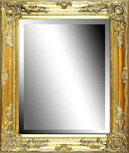 JVmoebel Wandspiegel Antiker Spiegel Standspiegel Barock Antik Echtes Holz Gold 16889