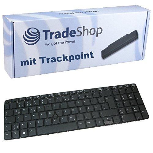 Original Laptop-Tastatur mit Trackpoint/Notebook Keyboard Ersatz Austausch Deutsch QWERTZ ersetzt HP 36649-BG1 736649-41 für HP Probook 650 G1 655 G1 Serie (Deutsches Tastaturlayout)
