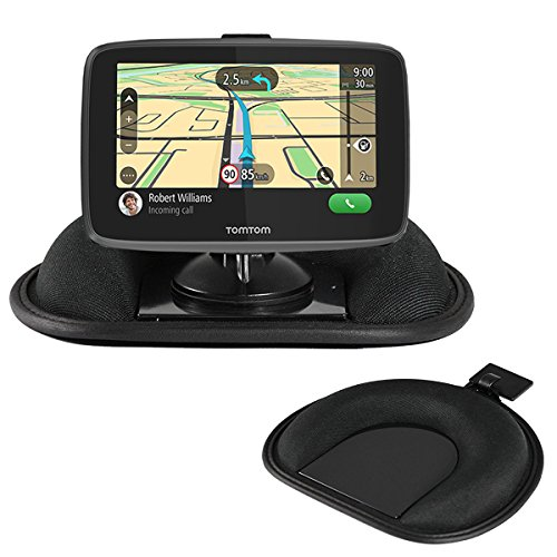 Navitech Armaturenbrett Friction Mount and Saughalterung mit GPS-Clip kompatibel mit demGarmin Drive Assist 50 LMT-D