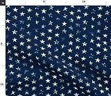 Sterne, Rot, Weiß Und Blau, Amerika, Sternenbanner, Grunge