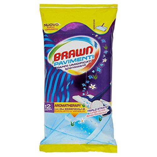 Brawn Salviette Pavimenti X 12 - [confezione da 4]