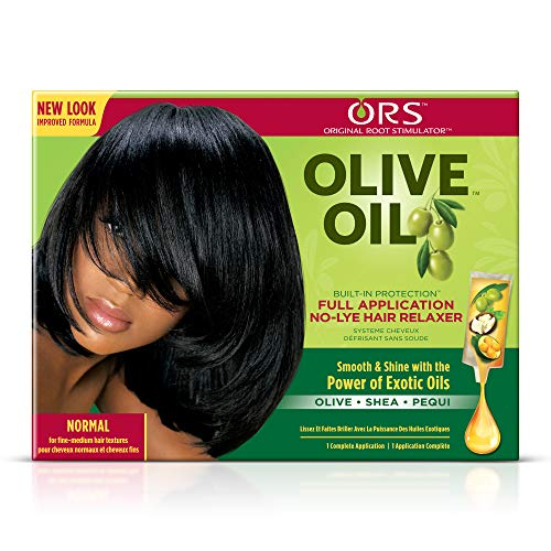 ORS Organic Root Stimulator Olive Oil No Lye Hair Relaxer-Normal by Ors