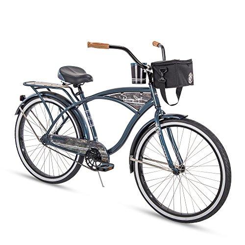 Huffy 26' Panama Jack Beach Cruiser Bike, Denim Blue