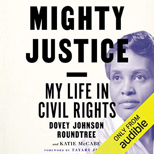 Mighty Justice audiobook cover art
