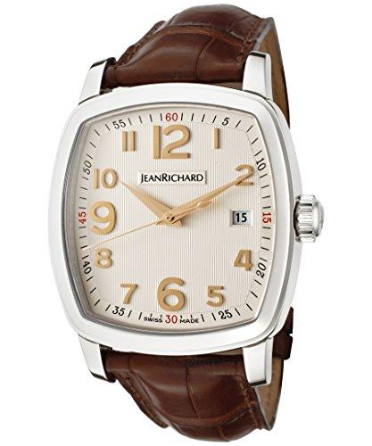 Jean Richard 60116-11-10A-AAED - Orologio da polso, colore: marrone