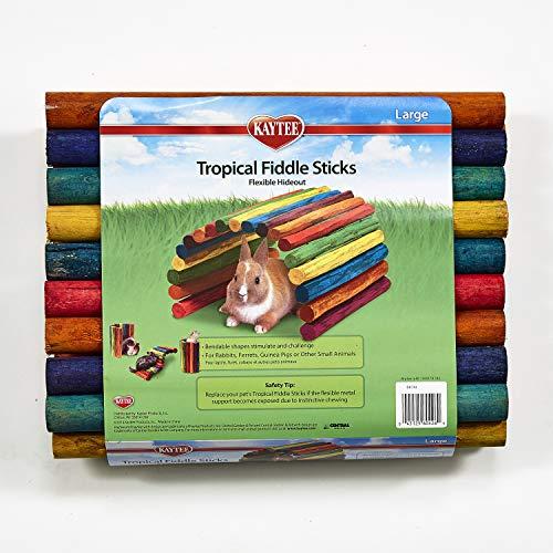Superpet Tropical Fiddle Bâtonnets en bois Taille L