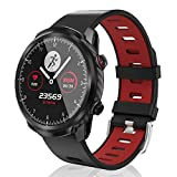 CatShin Smart Watch,Smartwatch with 1.3' Touch Screen, Fitness Tracker Step Counter, Activity Tracker with Blood Oxygen Monitor for Android/iOS, IP67 Waterproof Sport Watch for Women and Men