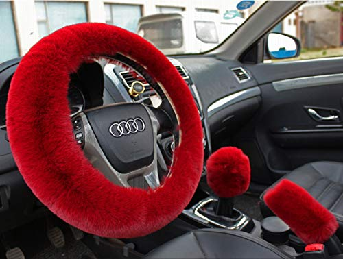 Valleycomfy Fashion Steering Wheel Covers for Women/Girls/Ladies Australia Pure...