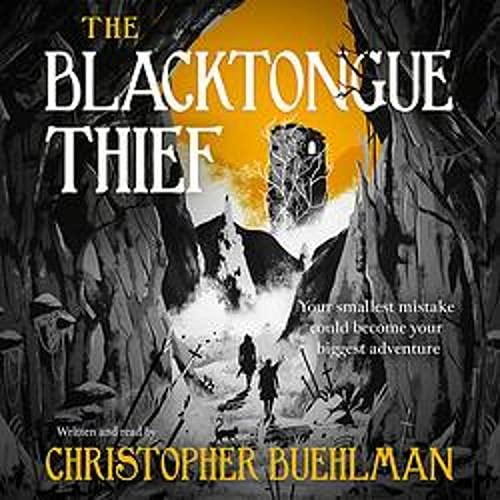 The Blacktongue Thief cover art