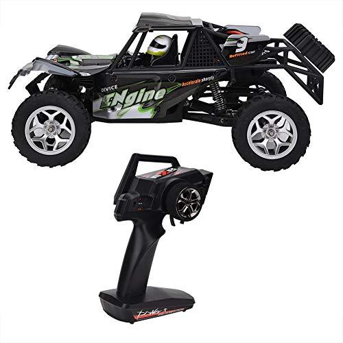 Tbest Ferngesteuertes Auto, 2.4G Kohlebürsten-Bewegungsspielzeugauto Weg von den Straßen-RC Auto-Geschenken für Kinder(Grün)