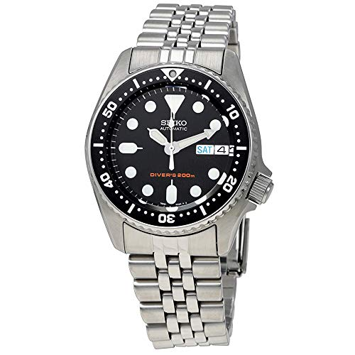 Seiko Herren Analog Automatik Uhr mit Edelstahl Armband SKX013K2