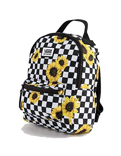 Vans MINI Checkered Yellow Flower Small Backpack