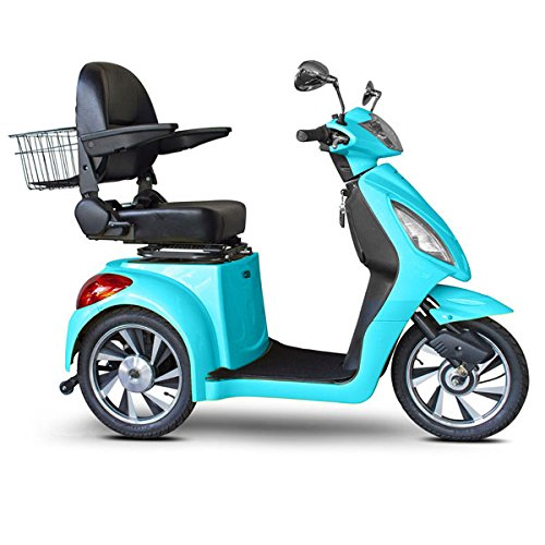 Lowest Prices! E-Wheels Jellybean Collection Electric Mobility Scooter - Teal