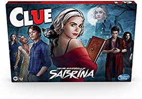 Hasbro Gaming Clue: Chilling Adventures of Sabrina Edition Board Game, Inspired by The Hit Series, Mystery Board Game...