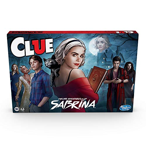 Hasbro Gaming Clue: Chilling Adventures of Sabrina Edition Board Game, Inspired by The Hit Series, Mystery Board Game for Kids Ages 14 and Up (Amazon Exclusive)