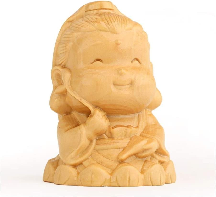 Attention brand WD Mini Buddha cheap Wood Carving fo Home Ornaments Crafts Suitable