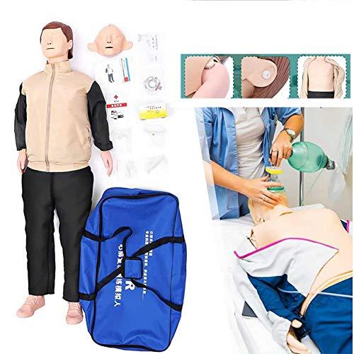 ZMIN Erste Hilfe Trainingspuppe Übungspuppe Practi für Wiederbelebung, Reanimationspuppe Erste Hilfe für medizinische pädagogische Trainingshilfe