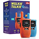 Walkie Talkies for Kids (2 Pieces) - Kids Outdoor Toys - Long Range Walkie Talkie for Kids - User-Friendly & Easy to Operate - Bright Fun Colors - Lightweight and Practical