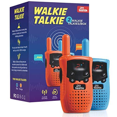 Walkie Talkies for Kids (2 Pieces) - Kids Outdoor Toys - Long Range Walkie...