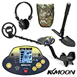 Underground Metal Detector KKmoon MD-5030KK Portable Easy Installation Metal Detecting for Adults High