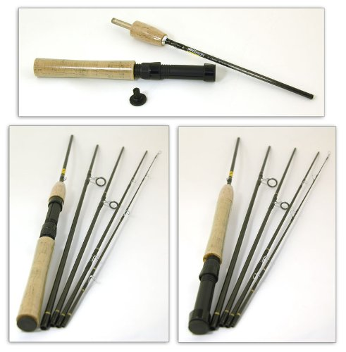 Bison 5 Section Convertible Travel Fly/Spinning Rod 8' #4/6