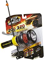 Fly Wheels Launcher + 2 Moto Wheels - Rip it up to 200 Scale MPH, Fast Speed, Amazing Stunts & Jumps up to 30 feet!