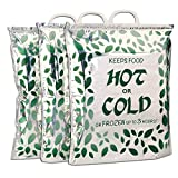 Hot Cold Food Bag, Large Size 16x18x6 inches (3 Pack)...
