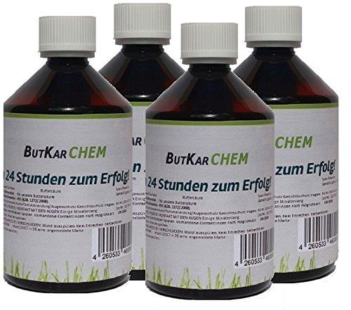 ButKarCHEM 2 Ltr. (Artikelnr.287) Markenregistrierte Buttersäure für die (Synthese & Weichmacher) (2.00) von Karbid 24