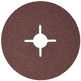 Hitachi tools Disco lija, Rojo, P80 (12.5 x 0.1 cm)