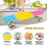 Zoom IMG-1 sgodde skateboard bambini 22 x6
