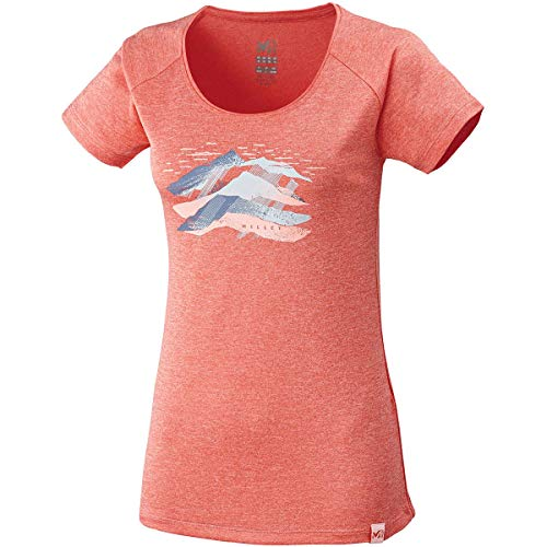 MILLET Come TS SS W Tee Shirt Femme, Dark Coral, XS