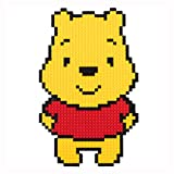 QQLOV Cartoon Winnie The Pooh Building Blocks Diamond Nano Building Block Puzzles Toys Children Adult DIY Educational Mini Model Bricks Toy Game 6+
