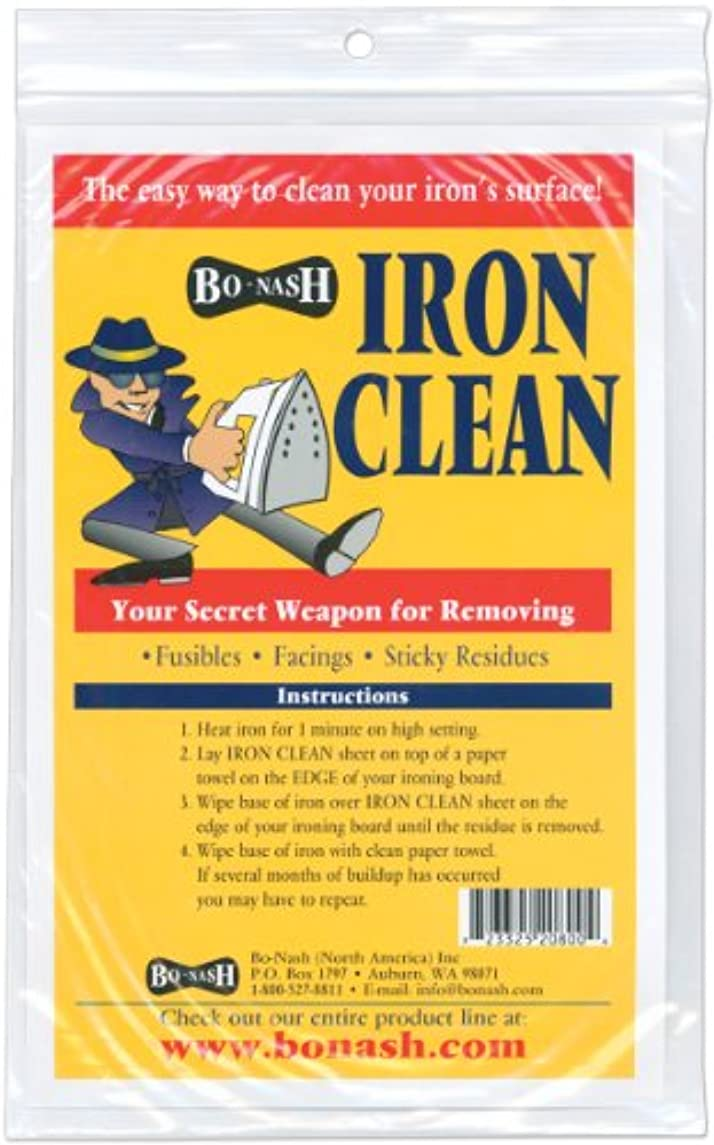 Bo Nash Iron Clean Cleaning Cloths-10/Pkg