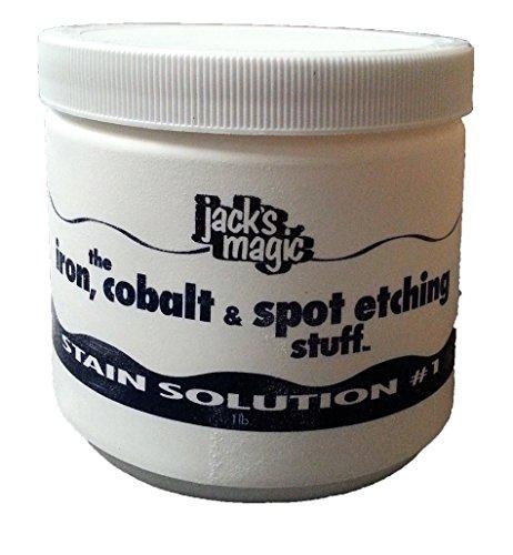 Jack' S Magic Stain Soluzione # 1Il Ferro, Cobalto e Spot acquaforte Stuff, 0,5Kilogram