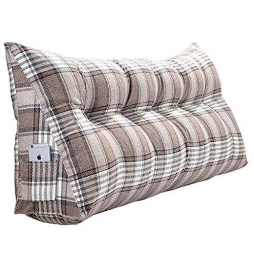 Best Bargain Lumbar Pillows Bed Pillows Positioners Triangular Cushion Soft Bed Double Pillow Sofa B...