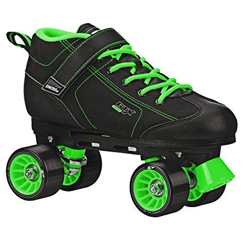 Pacer GTX 500 Roller Skate Black/Lime Size Men 7 Ladies 8
