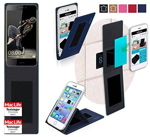 reboon Hülle für HiSense C30 Rock Tasche Cover Case Bumper | Blau | Testsieger