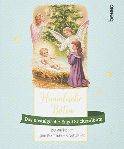 »Himmlische Boten« – Das nostalgische Engel-Stickeralbum: 100 Aufkleber zum Dekorieren & Verzieren