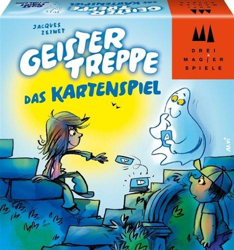 Schmidt Spiele 40857 - Geistertreppe Das Kartenspiel