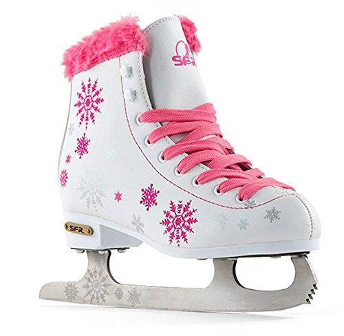 Sfr Skates Snowflake Patines sobre Hielo, Unisex Adulto, Ros
