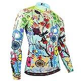 BXIO Mujer Ciclismo Manga Larga, Camisa Larga para la Primavera y el...