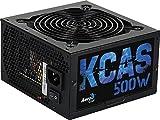 Aerocool KCAS S, fuente de alimentación 500W, 80Plus Bronze, 85%, PFC Activo