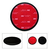 Ramtech 65mm Car Vehicle Dash Dashboard 3M VHB Adhesive Sticky Suction Cup Mount Disc Disk Pad for GPS/Mobile Cell Phone/Car DVR / MP4 / Tablet PC/Car DVR / MP4 / E-Book etc. - DMD65