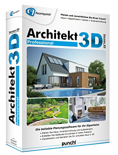 Architekt 3D X9 Professional