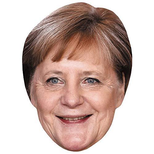 Celebrity Cutouts Angela Merkel (Short Hair) Maske aus Karton