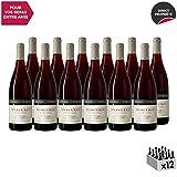 Mercurey Le Clos des Corvées Rouge 2018 - Château d'Etroyes - Vin AOC Rouge de Bourgogne - Cépage Pinot Noir - Lot de 12x75cl