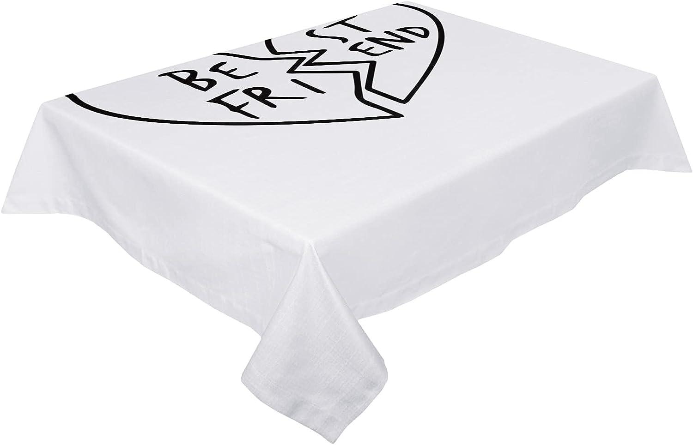 Very popular HELLOWINK Rectangle Table Cloths Broken 60x140inch Best 35% OFF Friend